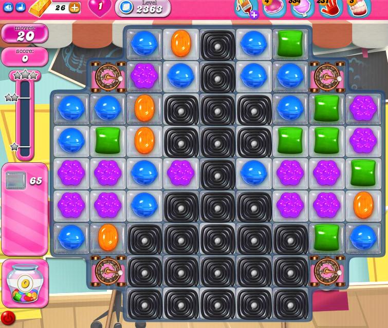 Candy Crush Saga level 2363