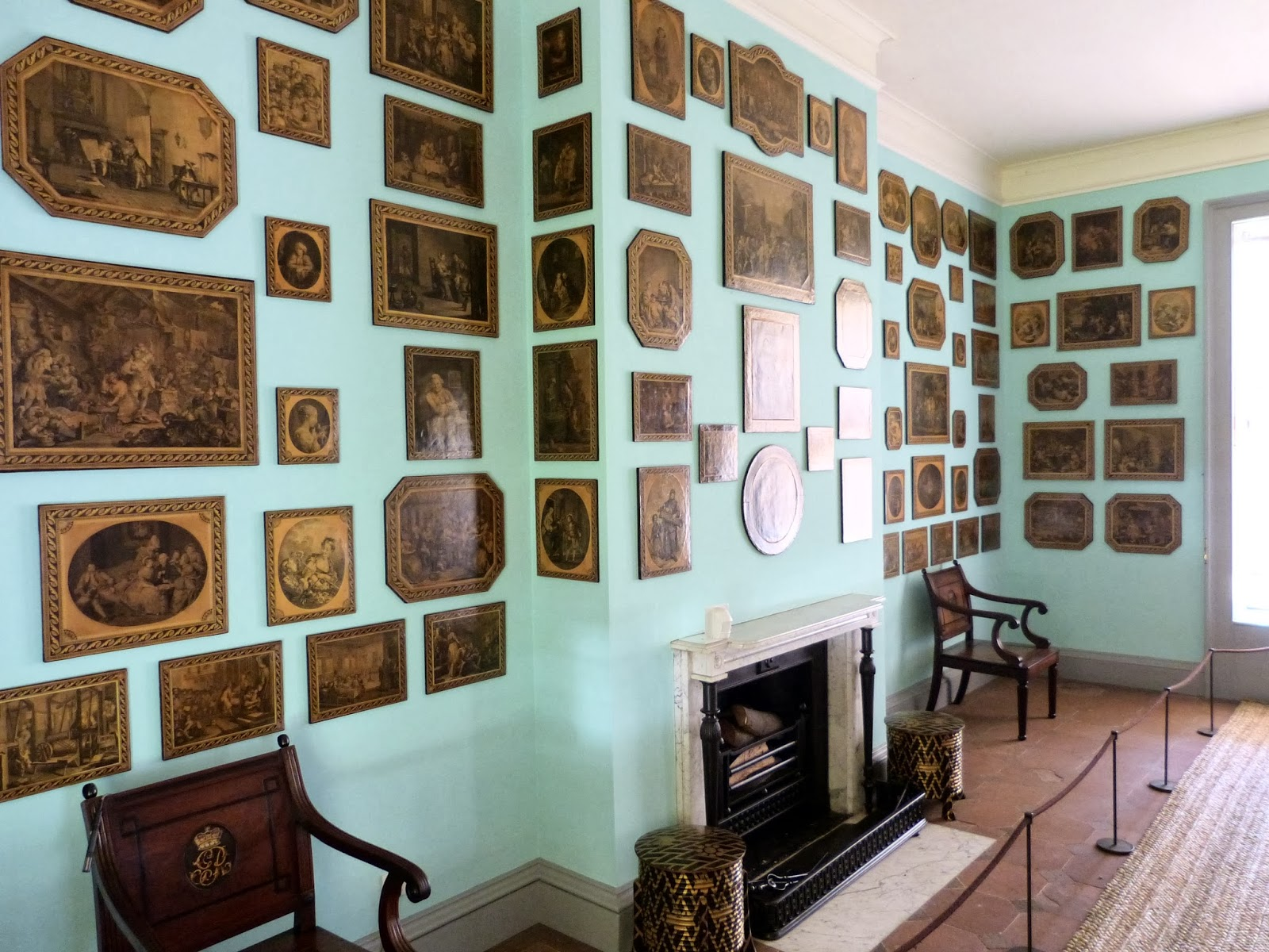 The print room, Queen Charlotte's Cottage, Kew