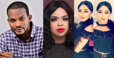 """""""Stop confusing our teenage boys with your mumu over filtered look"""" – Uche Maduagwu Blasts Bobrisky."""