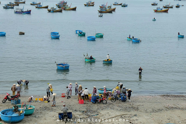 an unique fishing village in mui ne