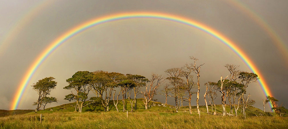 pictures colourful, magical, mysterious beauty of a Rainbow