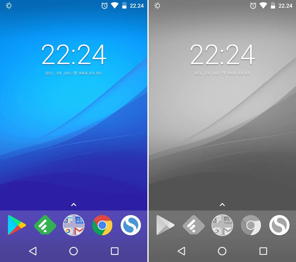 5000 Wallpaper Android Jadi Hitam