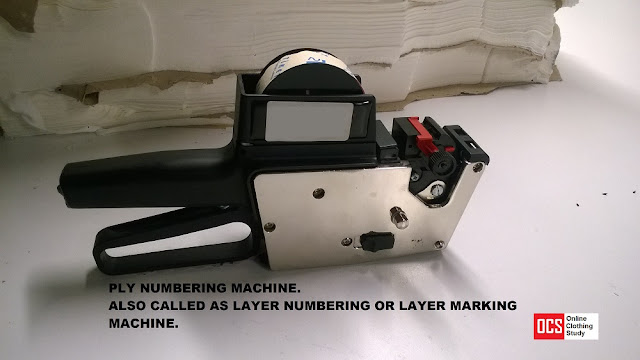 Layer marking equipment