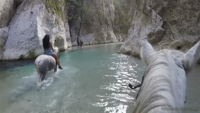Ιππασία στα νερά του Αχέροντα (+ΒΙΝΤΕΟ)