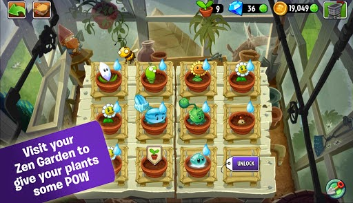 لعبة plants vs zombies 2