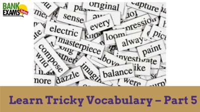 tricky vocabulary