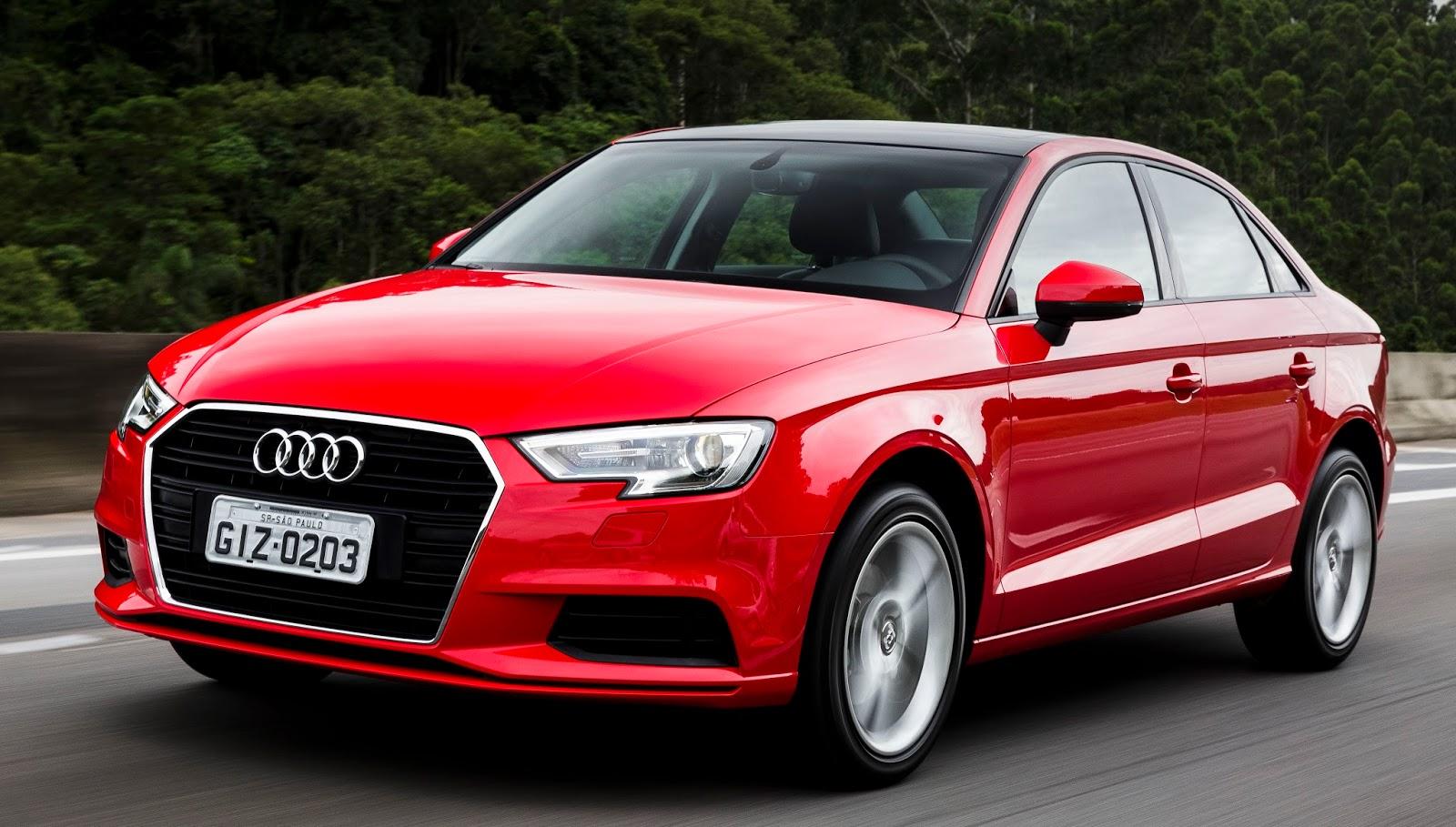 Ainda mais estiloso e tecnológico, Audi A3 Sedan 2017 chega ao Brasil