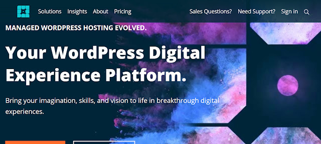 WpEngine - Best managed web hosting for wordpress blogs