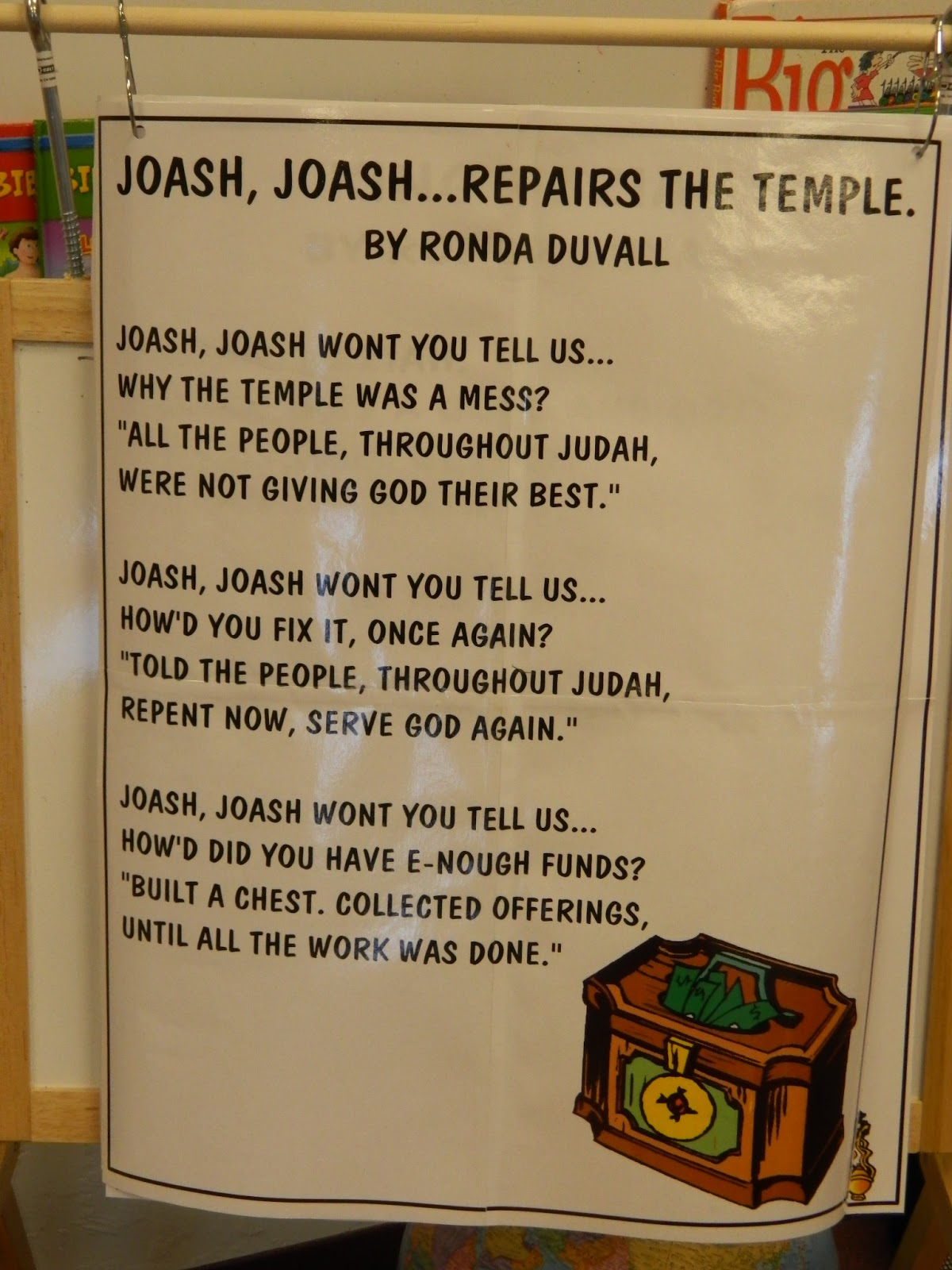 Hands On Bible Teacher Joash Repairs The Temple
