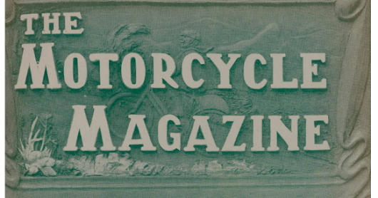 The Motorcycle Magazine - September 1903