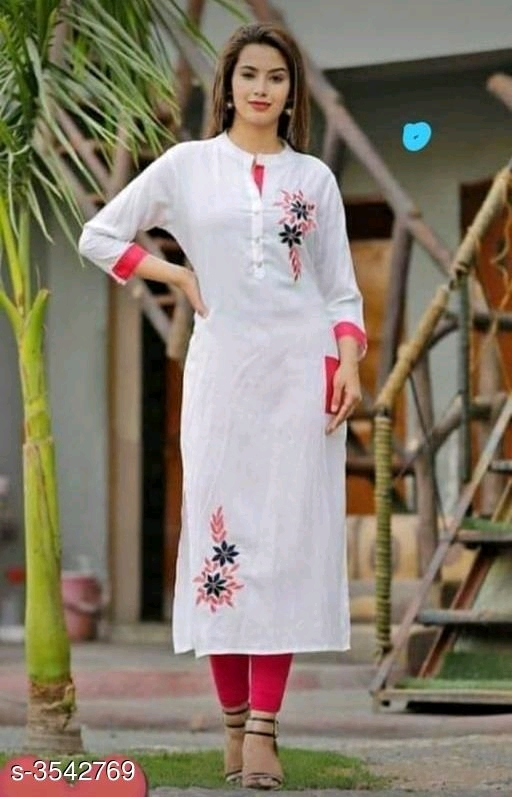 Stylish Rayon Women's Kurti