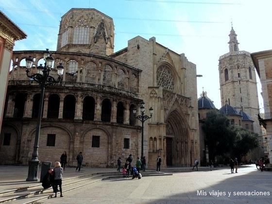 La catedral de Valencia y la Torre del Miguelete