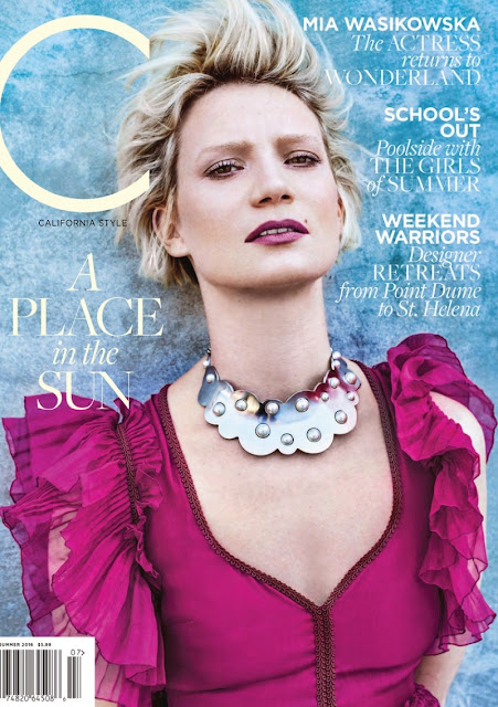 Actress, @ Mia Wasikowska - C Magazine Summer 2016