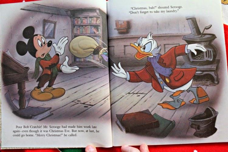 Mickeys Christmas Carol Book.Silver Shoes Rabbit Holes Mickey S Christmas Carol A