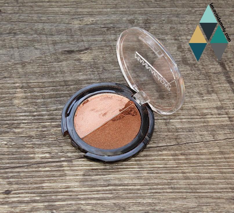 Bronzer Highlighter MannaKadar cosmétics