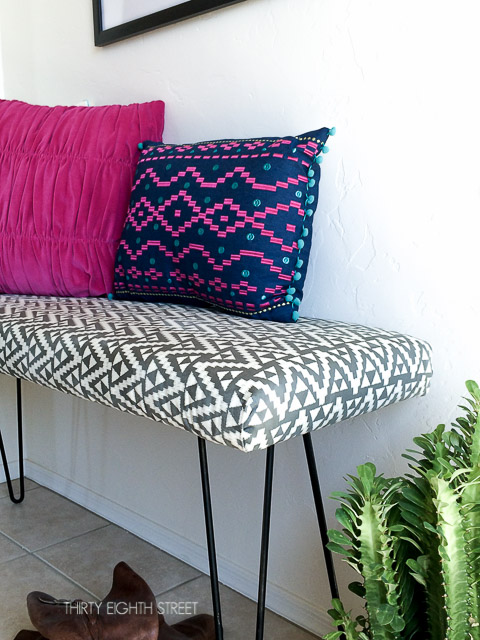 uphostery tutorial, how to upholster furniture, how to add legs to furniture, furniture before and afters, modern furniture inspiration