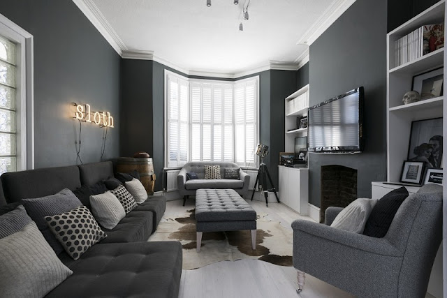 North Facing Living Room Colour Ideas With Grey Paint Part 61