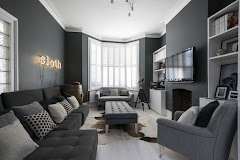 North Facing Living Room Colour Ideas With Grey Paint