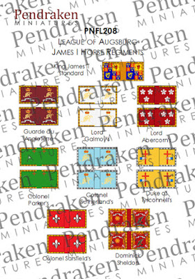 PNFL208   James II, Horse Regiments