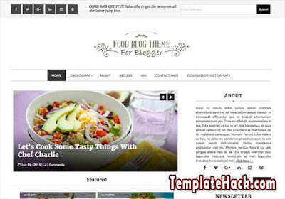 fod blog blogger template