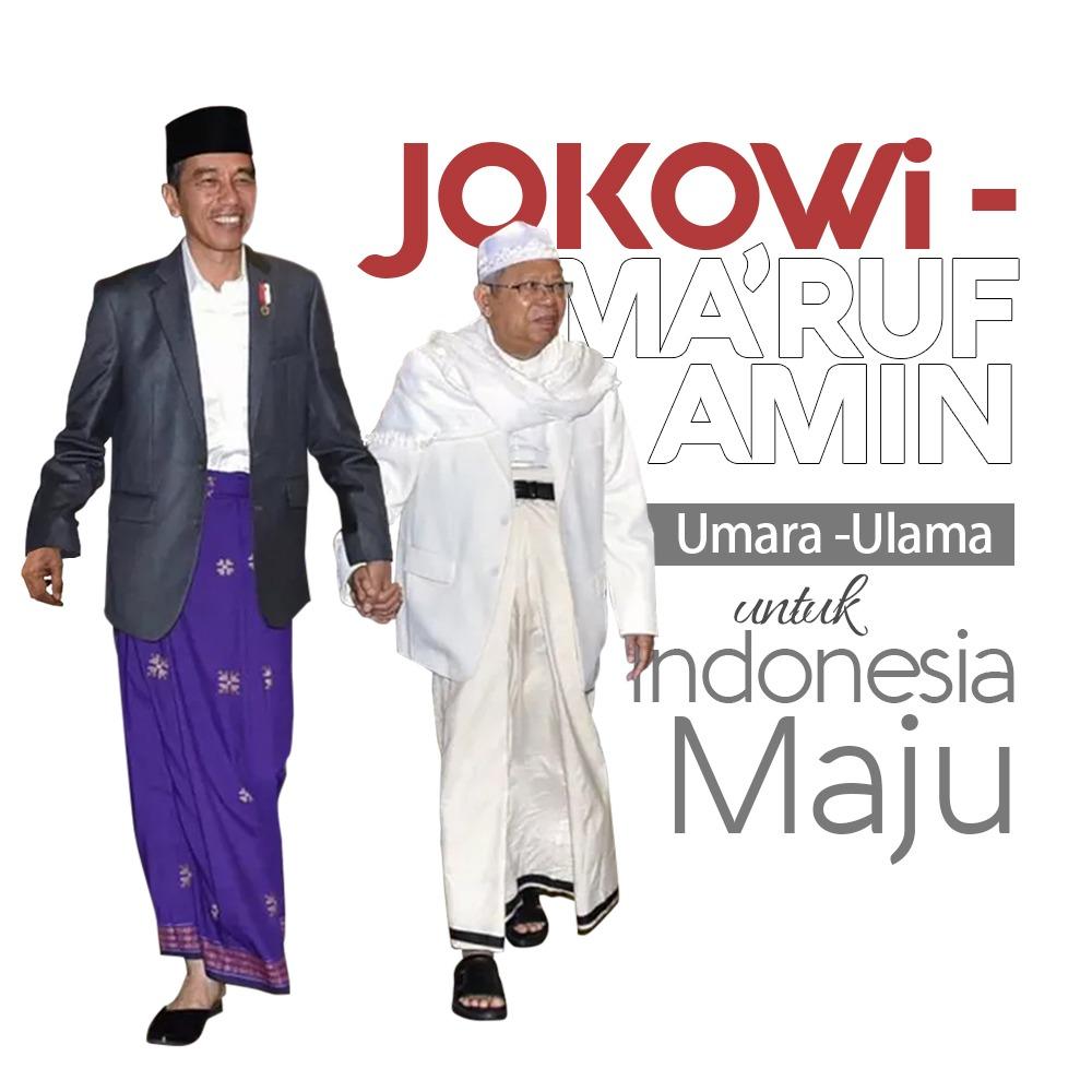Resmi! KH. Makruf Amin Jadi Cawapres Jokowi