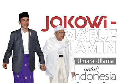Resmi! KH. Makruf Amin Jadi Cawapres Jokowi, Ini Alasan Jokowi
