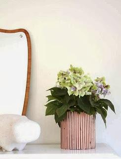Cara Membuat Kerajinan Tangan Dari Kertas, Pot Bunga Koran Bekas 9