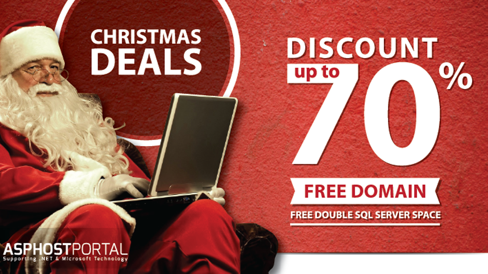 Best and Cheap e-Commerce ASP.NET 5 Hosting - Christmas Eve Hosting Deals