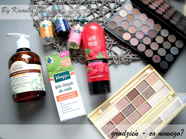 Kneipp bio olejek esencja do kąpieli paleta Beyond Flawless Naked chocolate czekoladka Makeup Revolution MUR