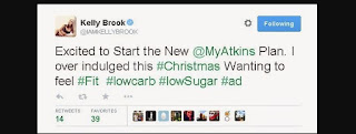 Kelly Brook Dieta Atkins