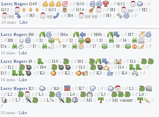 Egyptian Hieroglyphic In Emoji Fuller Version Any Language At All