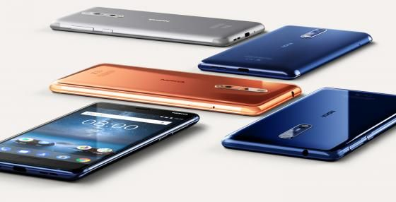 Smartphone Android Nokia 8 5,3 Inci Terbaik