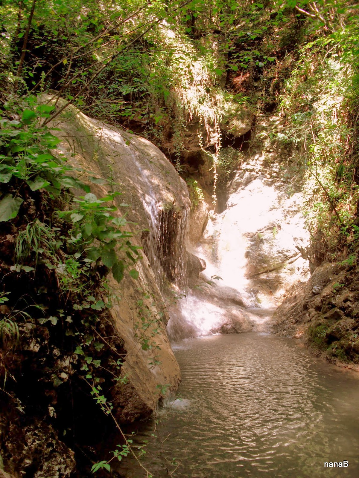 gaina waterfalls