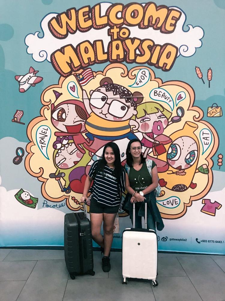 Leaving Singapore: En Route to Kuala Lumpur Alone