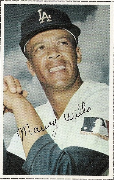 993c181b8 1969 - major league baseball 100th anniversary (1971 dell s today team  stamp maury wills)