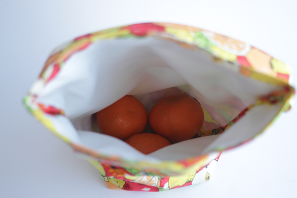 Easy sewing project: Basic lunch sack