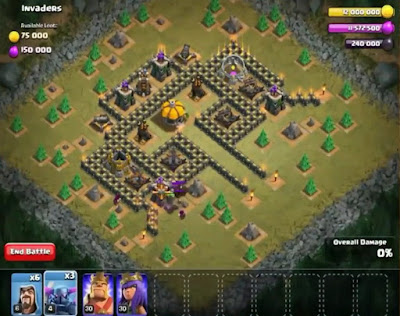51. Invaders Goblin Base COC
