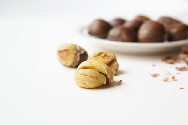 How to roast chestnuts @ Butter with a Side of Bread