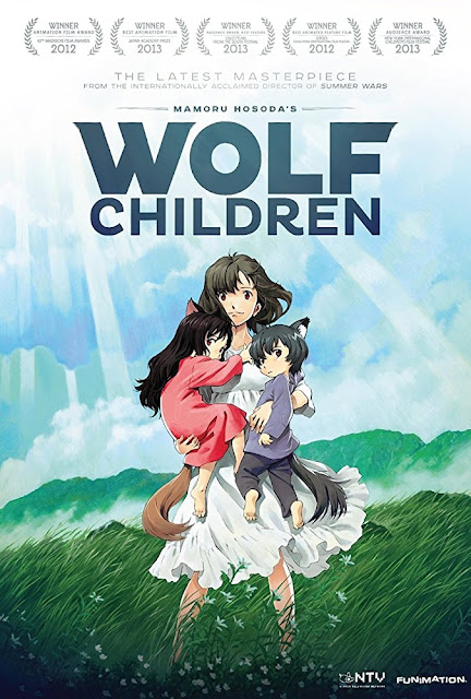 Poster Anime Wolf Children