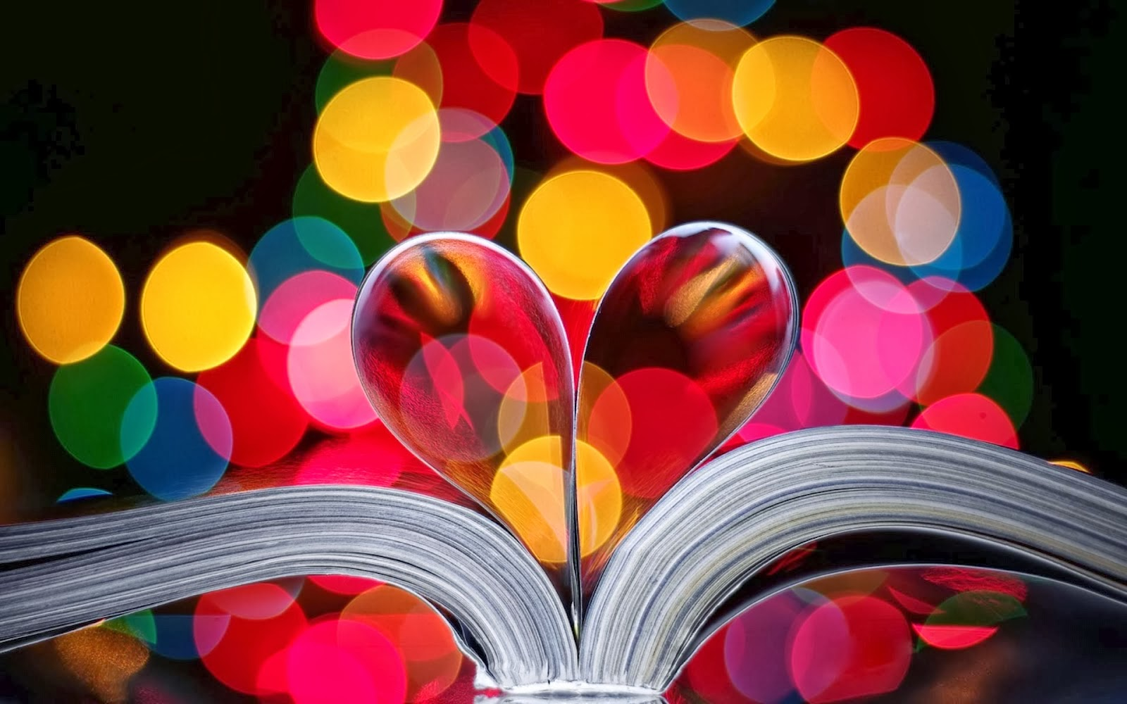 Book Heart Covers