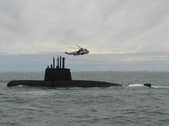 Buscan un submarino argentino con 44 tripulantes incomunicado hace 48 horas