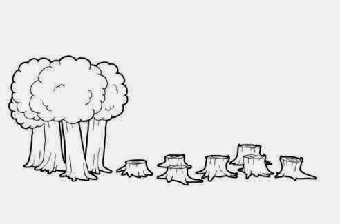 dibujos para colorear contaminacion ambiental imagenes de