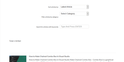 How to Make The Main Navigation on Blogspot