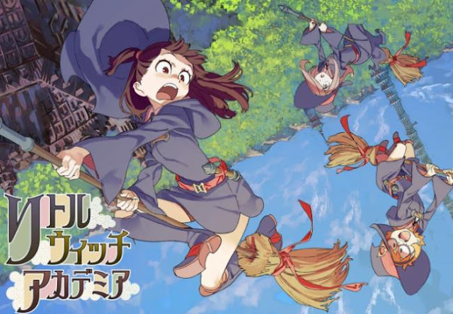 Little Witch Academia - Daftar Anime Fantasy School Terbaik