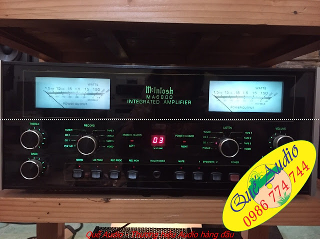 Amplifier McIntosh - MA 6800 - Made in USA