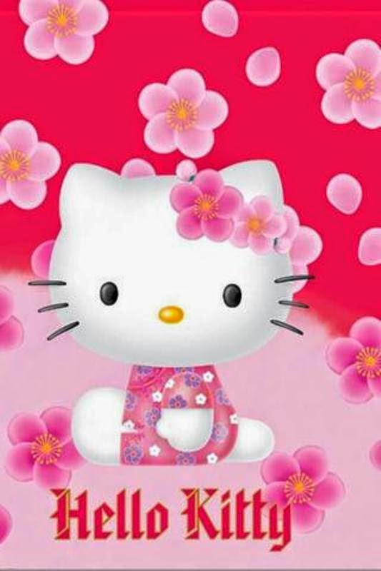 Gambar 14 Gambar Wallpaper Kitty Hp Android Download Pink Gratis Love Di Rebanas Rebanas