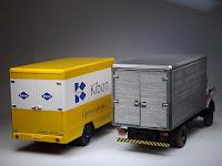 caminhão MB 1113 kibon miniatura 1/43