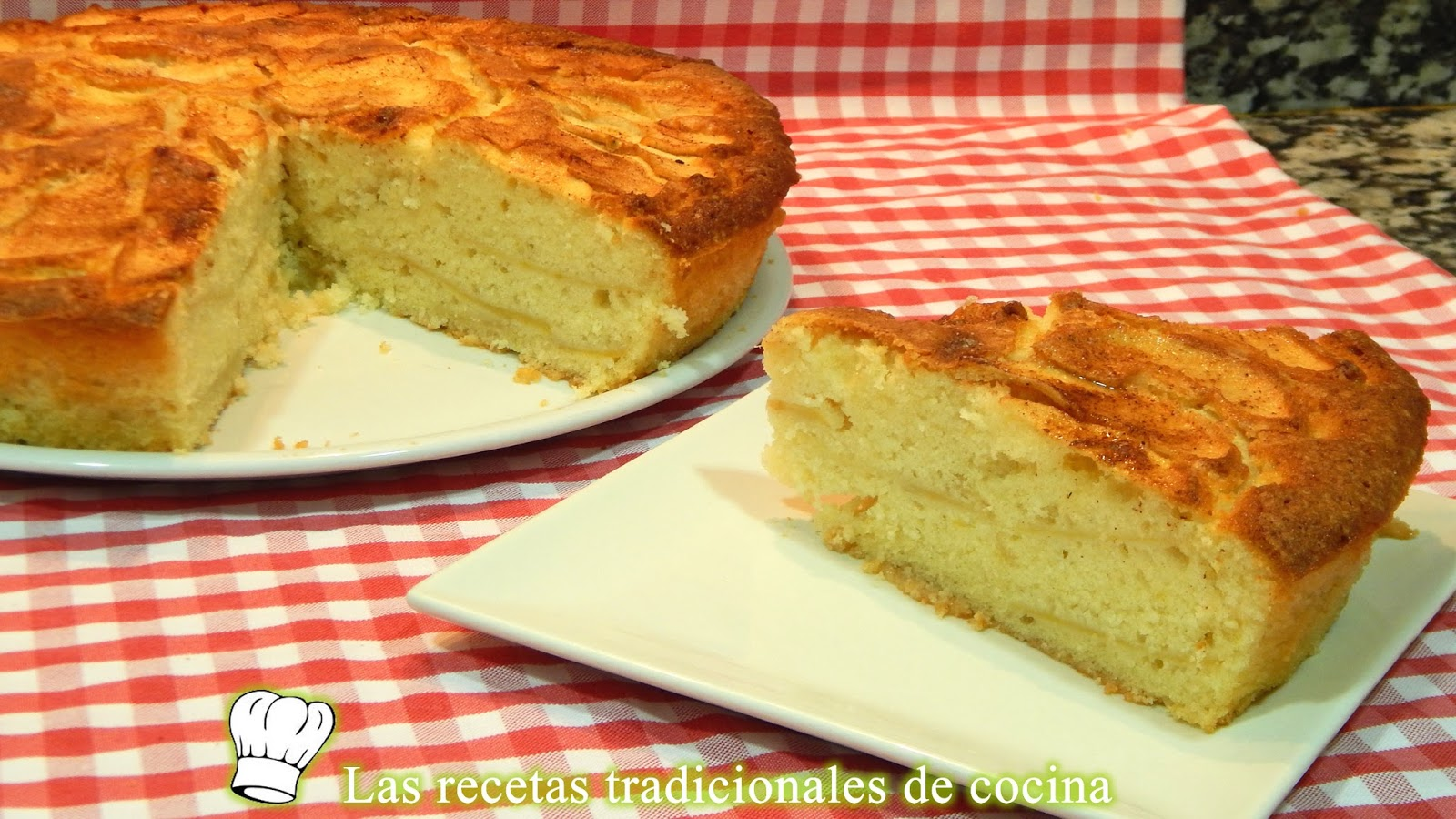 Torta Esponjosa De Manzana Receta Fácil