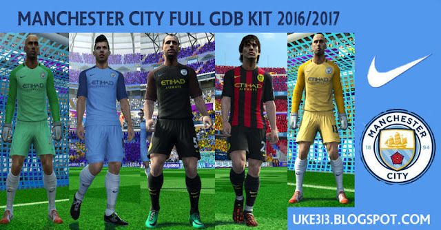 PES 2013 Manchester City New Kit 2016/17