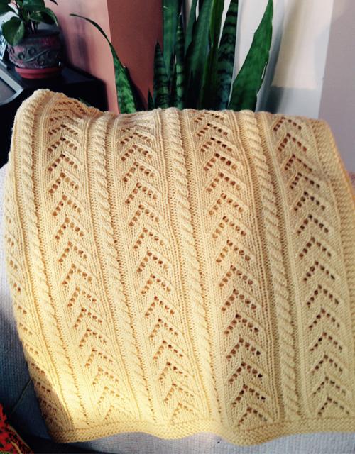 Sunshine Baby Blanket - Free Pattern